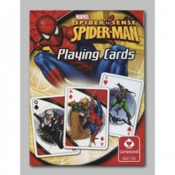 Jeu de 54 cartes Spiderman