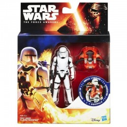First Order FLAMETROOPER - Figurine 10 cm STAR WARS