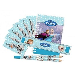 Set papeterie Reine des neiges - 20 pcs