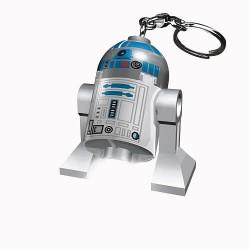Porte-clés Lampe LEGO LED - Star Wars - R2D2