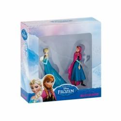 Coffret 2 figurines Anna Et Elsa - La Reine Des Neiges Disney