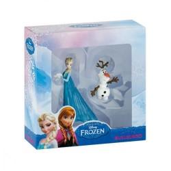 Coffret 2 figurines Elsa et Olaf - la Reine des neiges