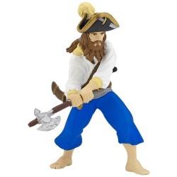 Figurine corsaire à la hache