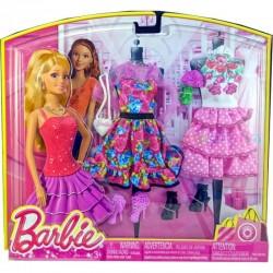 3 Tenues de loisirs de Barbie pour l'été