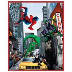 Puzzle 100 pièces Spiderman contre Lézard et Scorpion