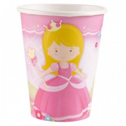 8 gobelets carton Little Princesse