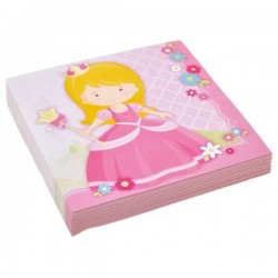 20 Serviettes en papier Little Princesse