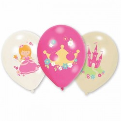 6 ballons Little Princesse
