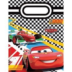 6 pochettes cadeaux Cars 2