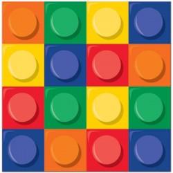 20 serviettes en papier LEGO