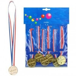5 Médailles de football