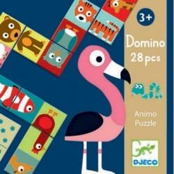 Jeu Domino - Animo puzzle Djeco