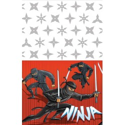 Nappe de fête Ninja