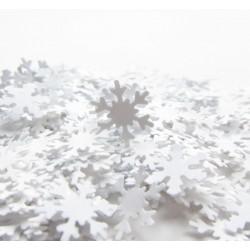 Confettis flocon de neige