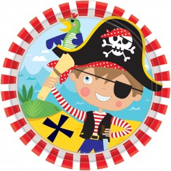 Assiettes Little Pirate 17,7 cm
