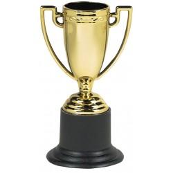 6 Trophées de football 10 cm