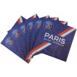 20 serviettes en papier PSG