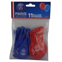 11 ballons latex PSG