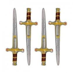 4 épées de chevalier à gonfler