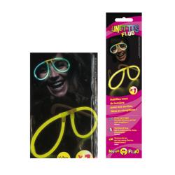 Une paire de lunettes fluo