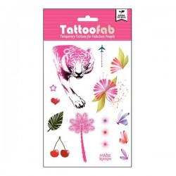 Tatouages éphémères Pink Tiger