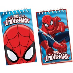 1 petit carnet Spiderman