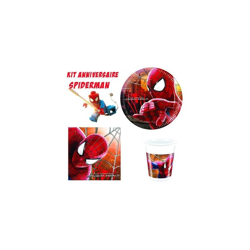 Kit Anniversaire Spiderman