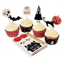 Kit à cupcakes Halloween - Meri Meri