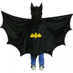 Cape de Batman avec capuche 3-4 ans