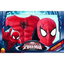 Déguisement luxe Spiderman avec muscles - Taille 5/6 ans
