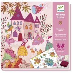 Histoires de Princesses à créer - Tampons et pochoirs