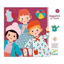 """Jeu magnétique bois """"La mode"""" - Djeco"""