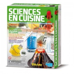 Sciences en cuisine - Coffret scientifique