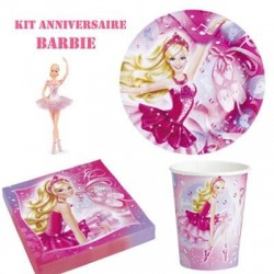 Kit anniversaire Barbie