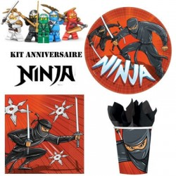 Kit anniversaire Ninja