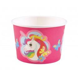 8 pots à glace Licorne