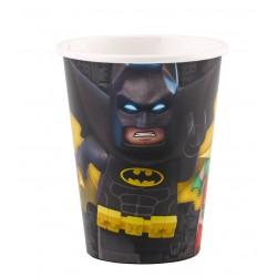 8 gobelets Lego Batman