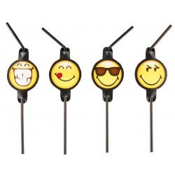 8 pailles Smiley