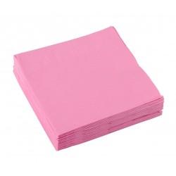 20 serviettes en papier Roses