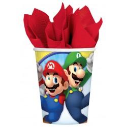 8 gobelets Super Mario