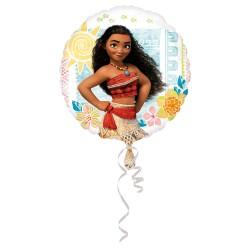 Ballon Foil standard rond VAIANA