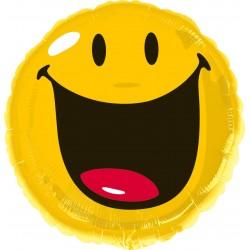 Ballon rond Helium Smiley