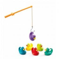 Ducky Pêche aux canards - JEU DE PECHE A LA LIGNE DJECO