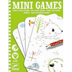 Mini games Djeco - Points à points