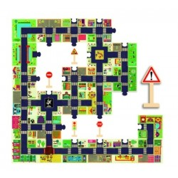 Puzzle Djeco géant La Ville 24 pièces