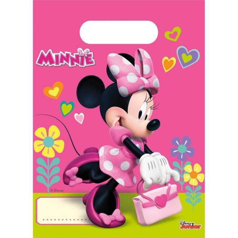 8 pochettes cadeaux Minnie