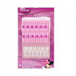 12 bougies d'anniversaire Minnie