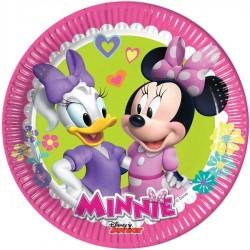 8 assiettes à dessert Minnie