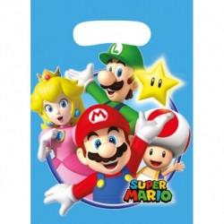 8 pochettes cadeaux Super Mario