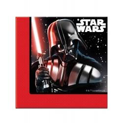 20 serviettes en papier Star Wars - la bataille finale